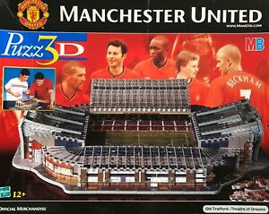 Manchester United Old Trafford England Hasbro Puzz 3D Jigsaw Puzzle