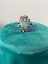 Vintage Antique Estate Ring Blue Stone Adjustable Size