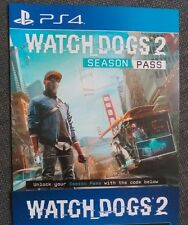 Watchdogs 2 ps4 season pass - 3 DLC missions plus customisation packs Watch dogs