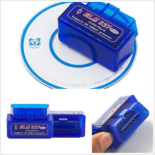 Bleu smart ELM327 V2.1 bluetooth ODB2 véhicule scanner couple outil de diagnostic kit