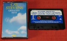 CAT STEVENS - UK CHROME CASSETTE TAPE - GREATEST HITS (BEST OF) - ISLAND 1+1