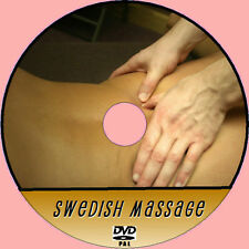 BEGINNERS GUIDE TO SWEDISH BODY MASSAGE STEP X STEP EASY 2 FOLLOW HOW TO DVD NEW