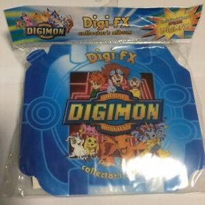 Digimon Digi-FX collectors album still sealed from factory