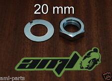 KAWASAKI Z1000 A1/2 Z1R - Ecrou 20mm + Rondelle frein du PSB