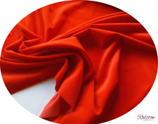 Red Velvet, Clothing, Cushions etc By The Metre, 240 gsm - 112 cms wide