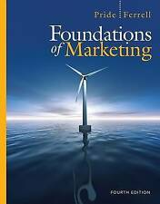 NEW Foundations of Marketing (Available Titles CourseMate) by William M. Pride