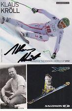 Klaus Kröll: OLYMPIA – e WM partecipanti SKI ALPIN aut, WM 4.2013