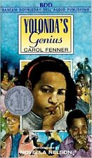 YOLONDA'S GENIUS BY CAROL FENNER--AUDIO CASSETTES--NEW--FREE SHIPPING