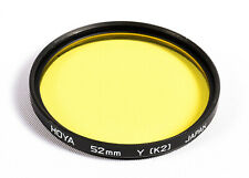 Hoya 52mm Yellow K2 Filter - **Excellent Cosmetic Condition**
