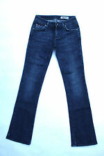 Jeans donna Montego GAS DENIM BLU SCOLORITO Bootcut Stretch W26 UK8 BUONO