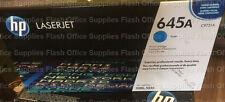GENUINE HP 645A C9731A CYAN Laserjet 5500 5550 Toner VAT INCLUDED FASTPOST