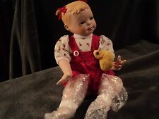Mib 1995 Ashton Drake Maddie Doll Holding Canary by Yolando Bello Mint in Box