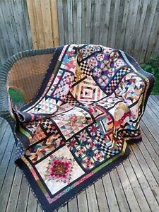 patchwork quilt handmade
