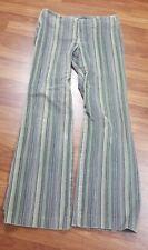 Womans Willismith Stripe Multicolor 6 Very Soft Zip Sexy Dress Pants High Waist