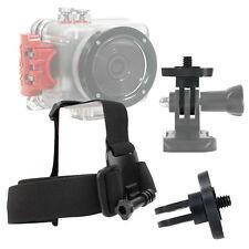 Anti-Slip Replacement Head/Helmet Strap Mount For Intova Sport Pro HD Video Cam