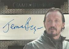 "Game of Thrones Valyrian Steel: Jerome Flynn ""Bronn"" Autograph Card"