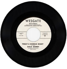 "DALE DARBY  ""TREAT A WOMAN RIGHT c/w PRAISE THE WOMAN""  DEMO NORTHERN SOUL"