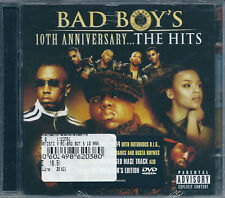 Bad Boy's 10th Anniversary The Hits (2004) CD+DVD NUOVO Notorius 50 Cent P Diddy