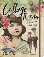Collage Therapy. Snipping Away Stress! by Elizegi, Rebeka (Hardback book, 2017)