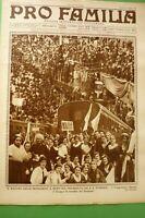 Pro Familia 1934 Turnout House Mondariso IN Mortara Group Mondine Novara + Este
