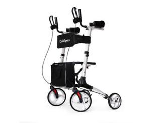 OasisSpace Lightweight Armret Walker - Rollator Walker with Forearm Support