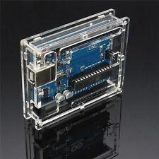 Transparente caso acrílico cubierta Shell caja de ordenador para Arduino SP