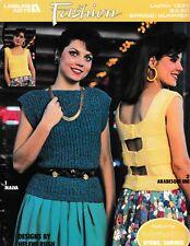 Fashion Sweaters Knitting | Leisure Arts 1335