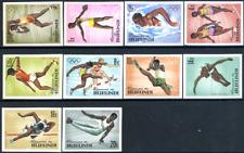 """Burundi 1964 """"Olympiade"""" Tokio, MiNr 125/34 B geschnitten ** MNH"""