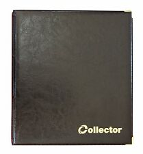 Black Coin Album 221 Coins Mix Sizes Book Folder Big Capacity for Extra Pages /C