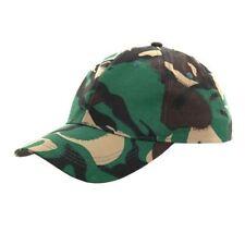 mens hat camouflage camo army baseball cap caps military combat woodland peak