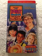 The Donut Man: (PV VHS) Duncan and the Donut Repair Club RARE OOP HTF