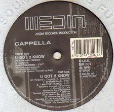 CAPPELLA - U Got 2 Know (Remixes) - Media