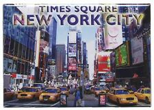 NEW YORK CITY TIMES SQUARE FRIDGE COLLECTOR'S SOUVENIR MAGNET 2.5