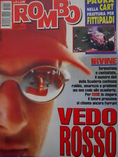Auto & Sport ROMBO 15 1997 Eddie Irvine Rubens Barrichello Giancarlo Fisichella