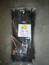 CABLE TIES 100 x (3.6mm x 150mm) BLACK