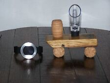 Wine Tools - Wine Aerator with Wine Stave Display Stand and Wine Thermometer