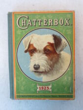 CHATTERBOX  1925   L. C. Page Co.  Terrier Cover  Illust'd