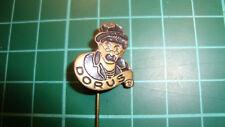 Dorus Tom Manders pin badge 60s 60's original lapel Dutch speldje zwart