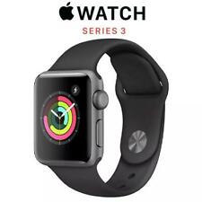 Apple Watch Series 3 Space Grey Aluminium With Black Sport Band 38mm
