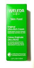 Weleda Skin Food Original Ultra-Rich Cream Moisturizer Dry Skin Mini Size 1 Oz