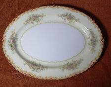 "Vintage Noritake Japan ""Lares"" Oval Serving Platter VERY NICE"