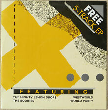 "5 TRACK 12"" vinyl EP - Mighty Lemon Drops Westworld Bodines World Party EX/MINT"