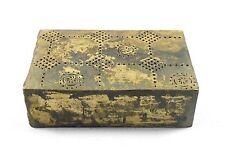 Antique Old Style Hand Engraved Rare Brass Rangoli Making Dye. G46-149