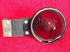 VINTAGE VEHICLE RUNNING LIGHT RED 1940'S OR 1950'S P/N KD515