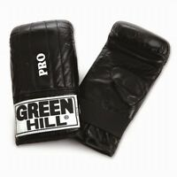 Greenhill Quality Leather Punching Mitt Pro Boxing Bag Wall Pad Training Gloves