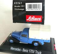 Mercedes V 170 Pritschenwagen  -1:43 Schuco 02261   in OVP #3322 xx