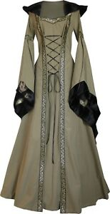 Mittelalter Karneval Gewand Kleid Kostüm Robe Sophia Maßanfertigung Farbwahl