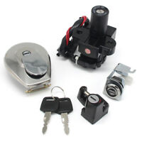 Ignition Key Switch Lock Set for Kawasaki ER6N Z1000SX ER650 Ninja650 400R