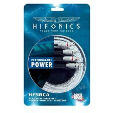HIFONICS hf5-rca Cable RCA 5 m haute qualité Cinch - stéréo câble double protégé