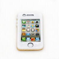 1/6 Dollhouse Gold Mobile Phone Model Cellphone Miniature for 1:6 Figures Decor